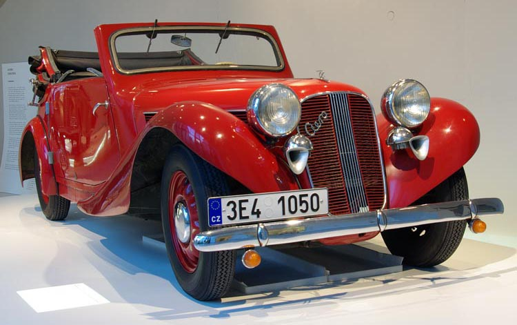 Czech car bodywork museum
